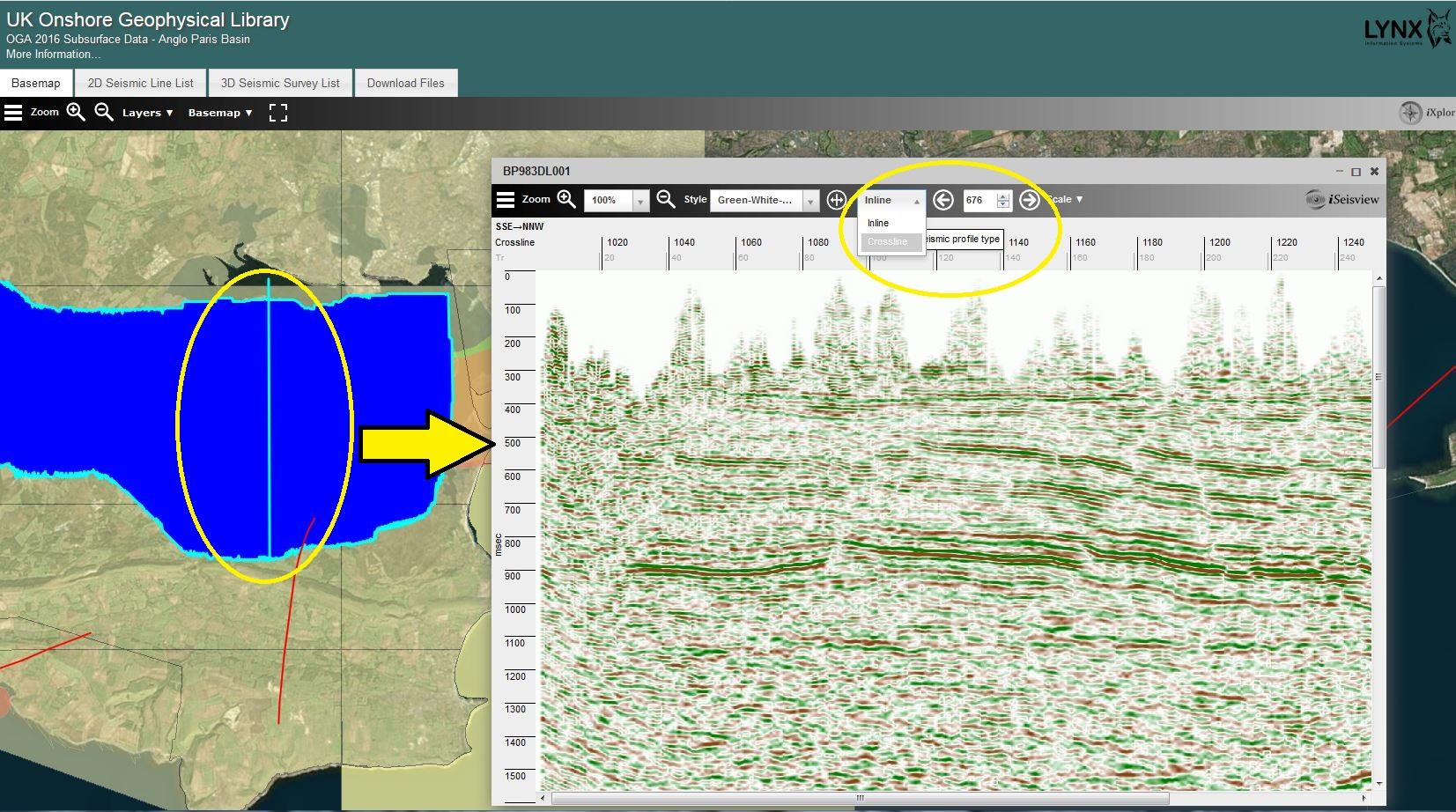 Seismic Data Download segy